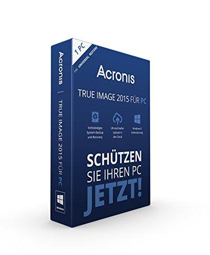 1 PC – Acronis True Image 2015 für PC