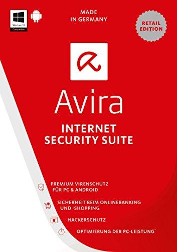 Avira Internet Security Suite 2017 2 Geräte / 1 Jahr