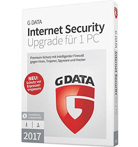 G DATA Internet Security 2017 Upgrade 1PC