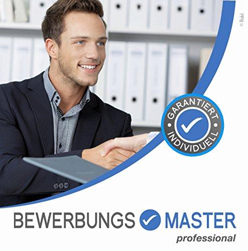 Lebenslauf, Anschreiben, Profil, Deckblatt – Mailbewerbung – BEWERBUNGSMASTER professional 2017 // Erfolgreiche Bewerbung schreiben