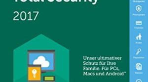 Kaspersky Total Security 2017 / 5 Geräte / 2 Jahre Medialess & Datenrettung by EaseUS