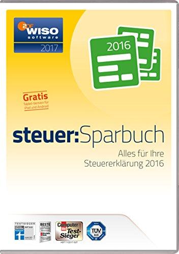 WISO steuer:Sparbuch 2017 für Steuerjahr 2016 PC Download