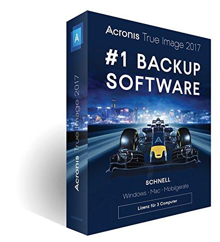 3 Computer – Acronis True Image 2017