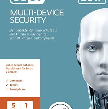 ESET Multi-Device Security 2017 Edition 5 User PC Download