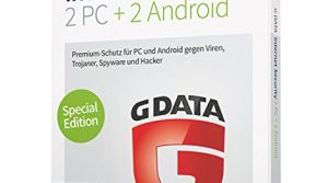 G DATA Internet Security 2017 für 2 PC + 2 Android-Geräte
