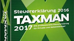 Die Steuersoftware, die für jeden passt – TAXMAN 2017 für das Steuerjahr 2016