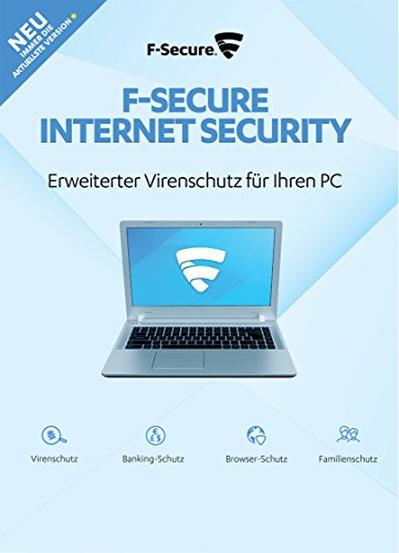 1 Jahr / 1 PC Online Code – F-Secure Internet Security