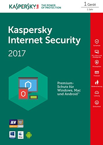 Online Code – Kaspersky Internet Security 2017 1 Gerät