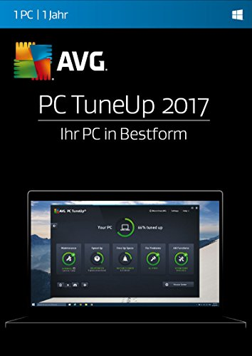 AVG PC TuneUp 2017 1 PC / 12 Monate Online Code