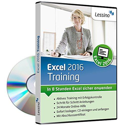 In 8 Stunden Excel sicher anwenden 1 Nutzer-Lizenz – Excel 2016 Training