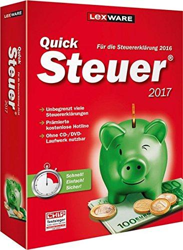 QuickSteuer 2017 für Steuerjahr 2016