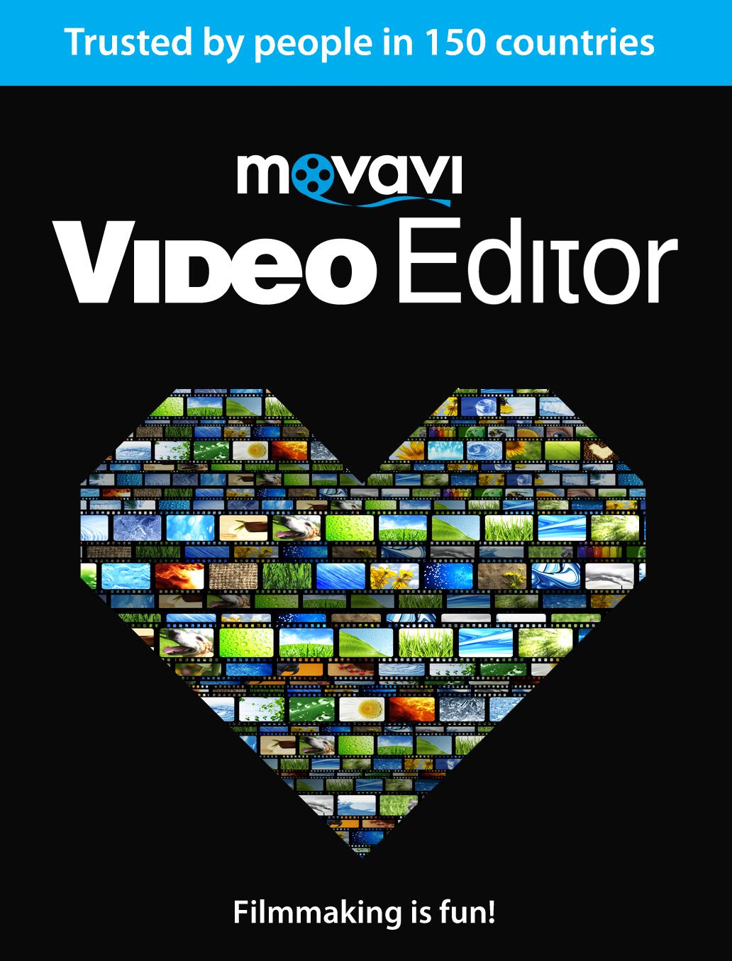 Movavi Video Editor 12 Persönliche Lizenz Download