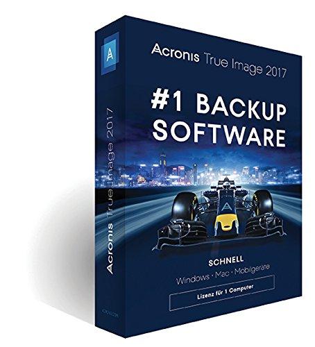 Acronis True Image 2017 – 1 Computer