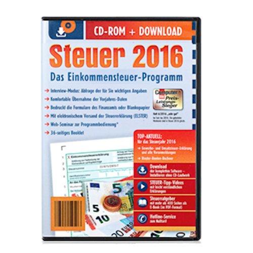 Aldi Steuerprogramm Einkommensteuer 2016