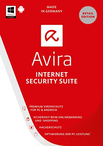 Avira Internet Security Suite 2017 1 Gerät / 1 Jahr