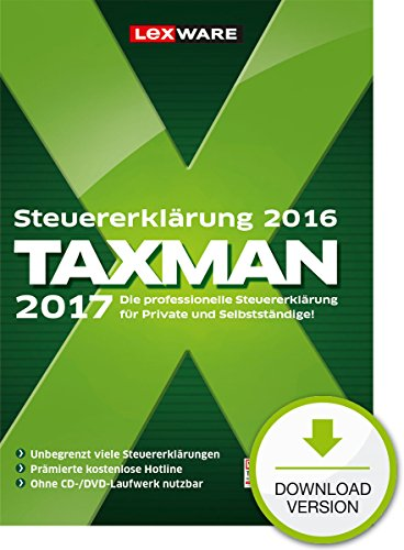TAXMAN 2017 – Standard PC Download