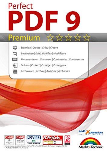 Perfect PDF 9 Premium Edition – PDFs erstellen, bearbeiten, konvertieren, umwandeln, schützen, Kommentare hinzufügen, Digitale Signatur einfügen | 100% Kompatibel mit Adobe Acrobat – mit OCR Modul