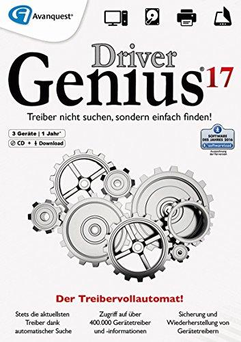 Driver Genius 17 – Der Treiber-Vollautomat & Geräte-Assistent für Windows 10|8|7|Vista|XP 32- & 64-bit Download