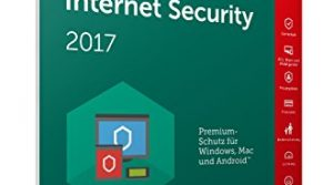 Kaspersky Internet Security Upgrade 2017 | 5 Geräte  | 1 Jahr | PC/Mac/Android | Download
