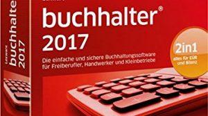Lexware buchhalter 2017 basis-Version Minibox Jahreslizenz / Einfache Buchhaltungs-Software für Freiberufler, Handwerker, Kleinunternehmen & Vereine / Kompatibel mit Windows 7 oder aktueller