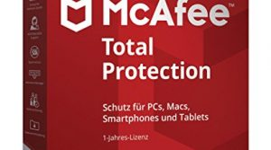 McAfee Total Protection 5 Device Code in a Box Software