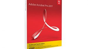 Adobe Acrobat Pro 2017 Student and Teacher Windows