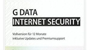 G Data Internet Security 1PC PKC Gültig für 2017/2018