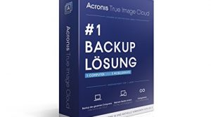 Acronis True Image Cloud – Minibox 1 Lizenz + 3 Geräte