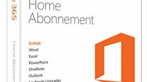 5PCs/MACs – Microsoft Office 365 Home – 1 Jahresabonnement – multilingual Product Key Card ohne Datenträger