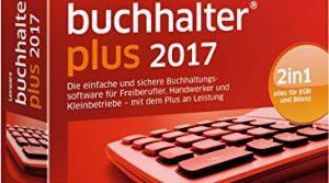 Lexware buchhalter 2017 plus-Version Minibox Jahreslizenz / Einfache Buchhaltungs-Software für Freiberufler, Handwerker, Kleinunternehmen & Vereine / Kompatibel mit Windows 7 oder aktueller