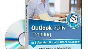 In 8 Stunden Outlook sicher anwenden 1 Nutzer-Lizenz – Outlook 2016 Training