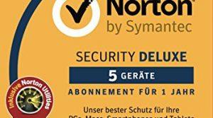 Norton Security Deluxe mit Norton Utilities 16.0 Bundle | 5 Geräte | PC/Mac/Smartphone/Tablet | Download
