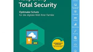 Kaspersky Total Security 2018 Upgrade, 3 Geräte, 1 Jahr, Windows/Mac/Android, Email Download