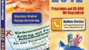 Steuer-Sparer 2012, 1 CD-ROM Steuererklärung 2011 am PC. Glasklare Struktur. Präzise Berechnung. Für Windows XP SP2/Vista/7