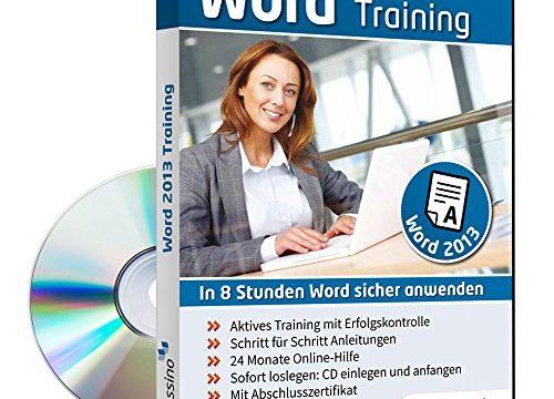 In 8 Stunden Word sicher anwenden 1 Nutzer-Lizenz – Word 2013 Training