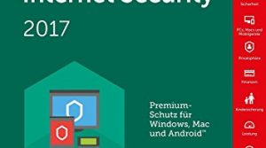 Kaspersky Internet Security 2017 / 10 Geräte / 1 Jahr Medialess & Datenrettung by EaseUS