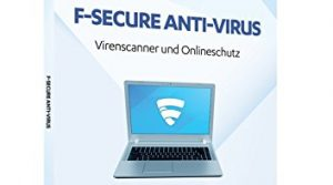 F-Secure Anti-Virus – 1 Jahr / 3 PCs