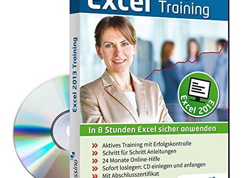 Excel 2013 Training – In 8 Stunden Excel sicher anwenden 1 Nutzer-Lizenz