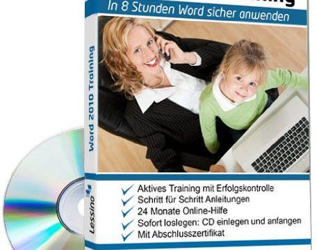Word 2010 Training – In 8 Stunden Word sicher anwenden 1 Nutzer-Lizenz