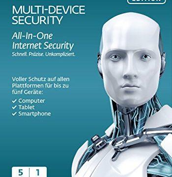 ESET Multi Device Security 2016 – 5 Geräte Frustfreie Verpackung