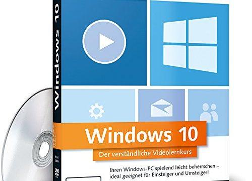 Der verständliche Videolernkurs. Zuschauen und Mitmachen! Die Schulung am eigenen PC. – Windows 10