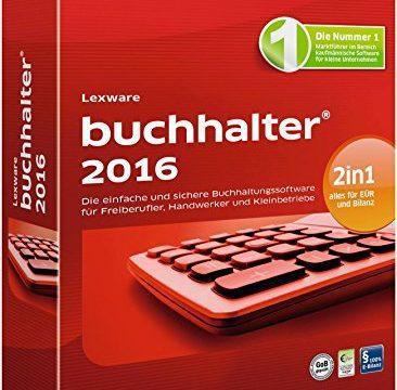 Lexware buchhalter 2016 – inkl. 365 Tage Aktualitätsgarantie