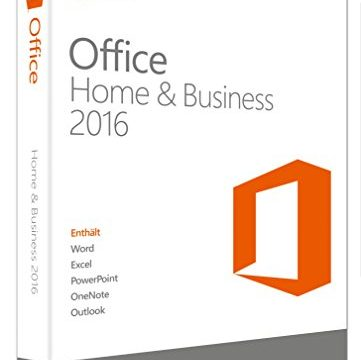 Microsoft Office Home and Business 2016 Product Key Card ohne Datenträger