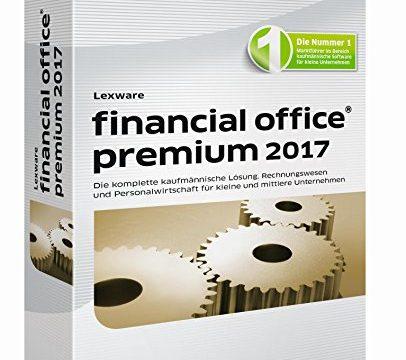 Lexware financial office 2017 premium-Version Minibox Jahreslizenz / Einfache kaufmännische Komplett-Lösung für Freiberufler, kleine & mittlere Unternehmen / Kompatibel mit Windows 7 oder aktueller