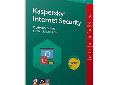 Kaspersky Internet Security 2018 Standard, 3 Geräte, 1 Jahr, Windows/Mac/Android, Download