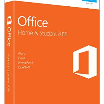 MS Office Home and Student 2016 Win P2 EuroZone Medialess English EN