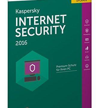 Kaspersky Internet Security 2016 Upgrade – 3 PCs / 1 Jahr Frustfreie Verpackung