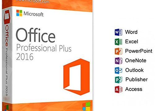 ESD – 32/64 Bit – Vollversion – Microsoft Office Professional Plus 2016