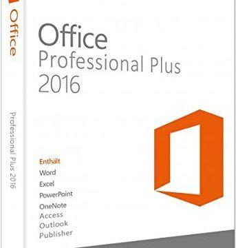Microsoft Office Professional Plus 2016 – USB -für 2 PCs   Multilanguage   für Word, Excel, PowerPoint, OneNote, Outlook, Publisher und Access License