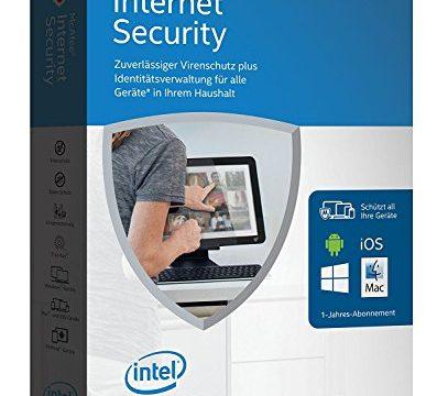 für eine unbegrenzte Anzahl an Geräten Minibox Verpackung – McAfee Internet Security 2016 unlimited